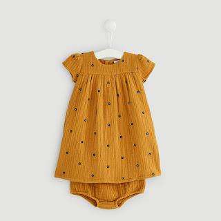757e74a565da3 robe bloomer gaze de coton bébé fille