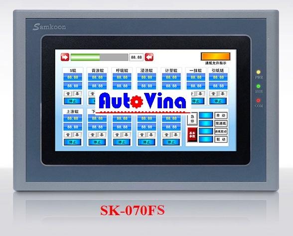 Đại lý phân phối màn hình cảm ứng HMI Samkoon 7 inch SK-070FS, SK-070AS