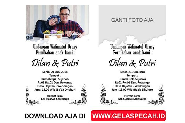 undangan rokok walimatul urusy   undangan rokok terbaru - www.gelaspecah.id