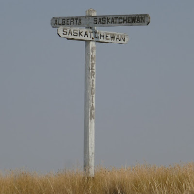Empress, Saskatchewan, sign, 4th meridian, Alberta, section house, C.P.R.