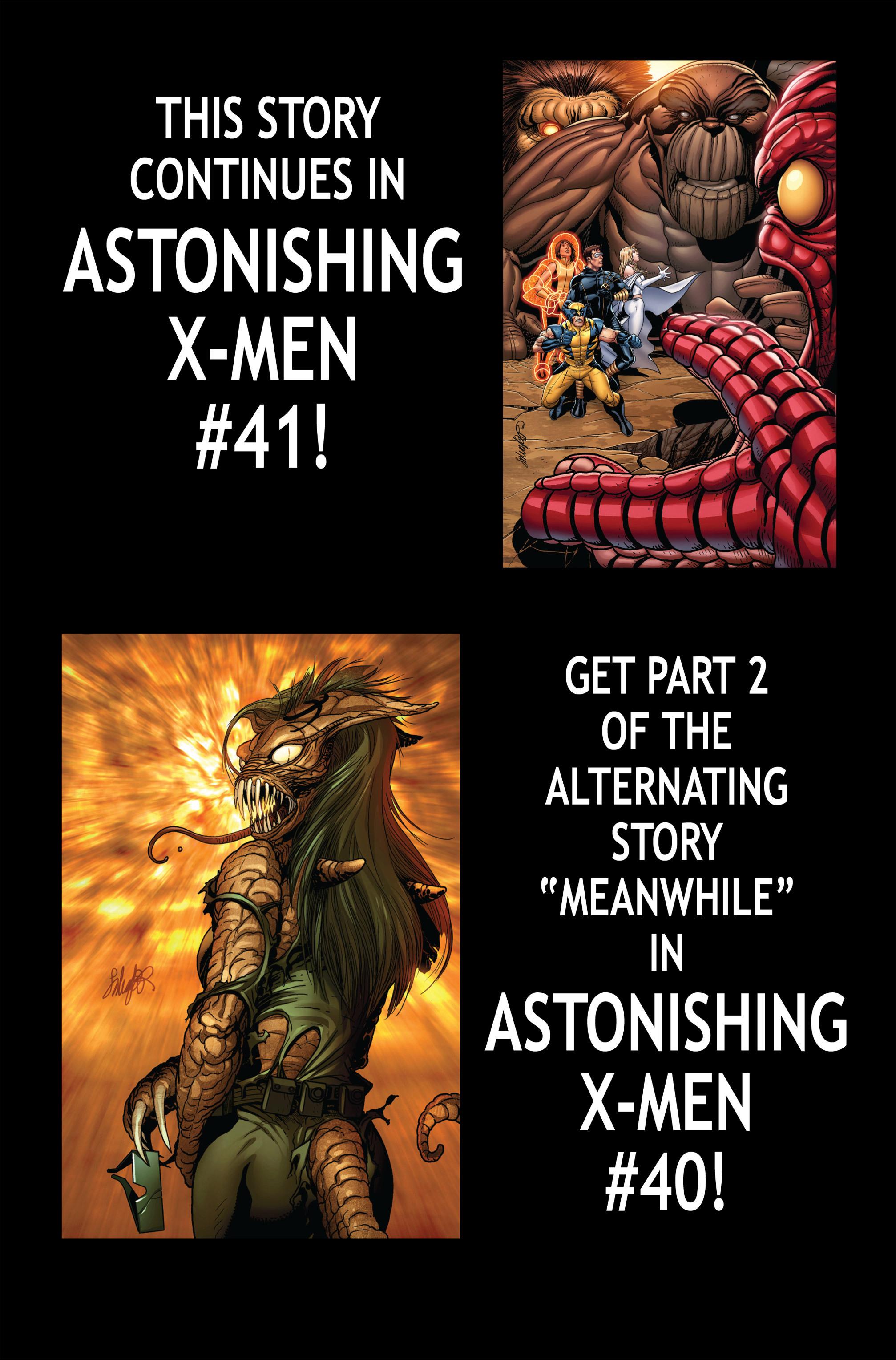 Read online Astonishing X-Men (2004) comic -  Issue #39 - 24