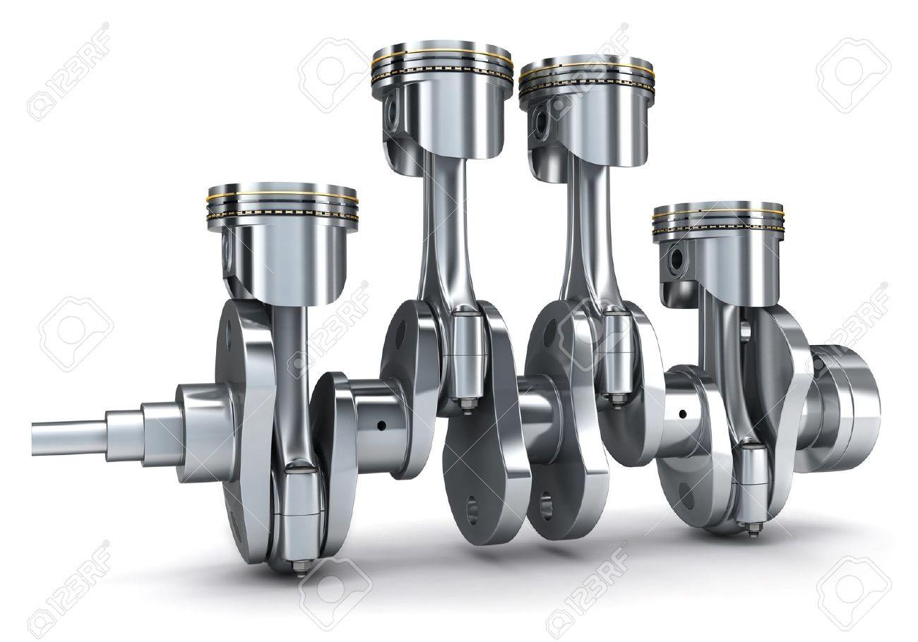 شرح الأجزاء الثابتة والأجزاء المتحركة ووظيفتها في محرك السيارة