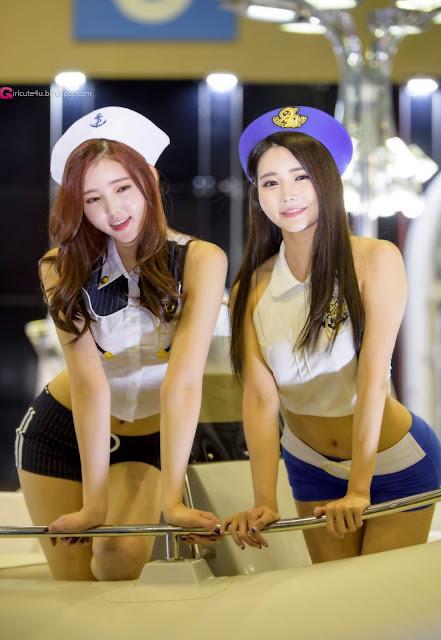 4 Kim Bo Ra 2016 Korea International Boat Show - very cute asian girl  - girlcute4u.blogspot.com