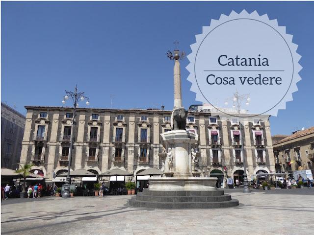 Cosa vedere a Catania: itinerario a piedi nel centro storico. Piazza Duomo