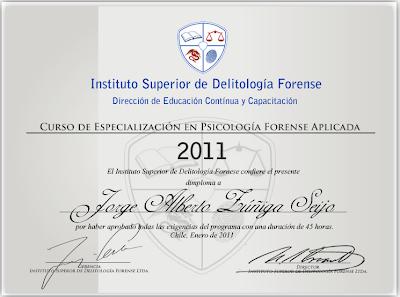 educacion forense diploma