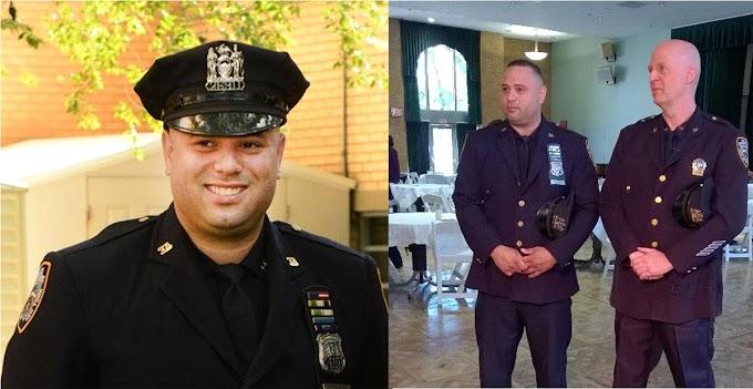 Oficial dominicano del NYPD reconocido con Premio al Servicio Público