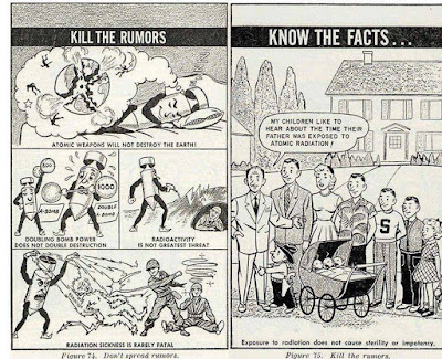 Atomic Radiation -- Kill the rumors Know the facts