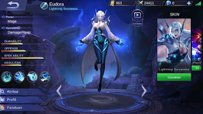 Hero Mobile Legends Paling Best Pakai