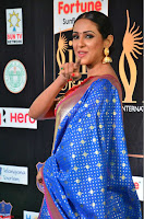 Priya Shree in Beautiful Blue Saree at IIFA Utsavam Awards 2017  Day 2    HD Exclusive Pics 04.JPG