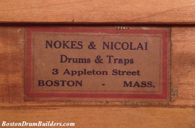Nokes & Nicolai shell label