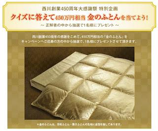 http://nishikawa450.jp/campaign/