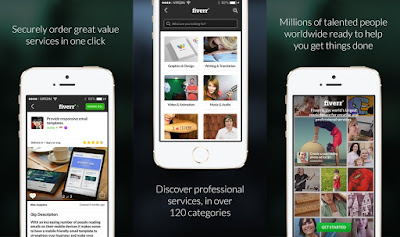 Download Fiverr Freelance Services App