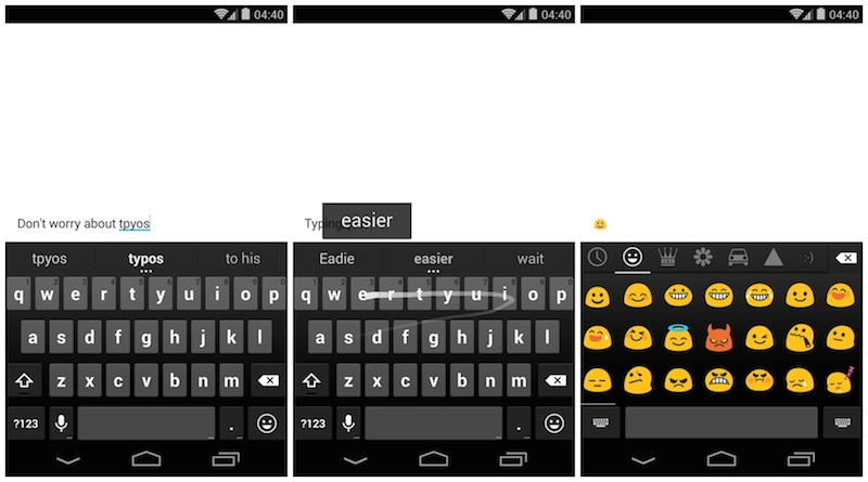 SwiftKey vs  Fleksy vs  Google Keyboard: Which keyboard is