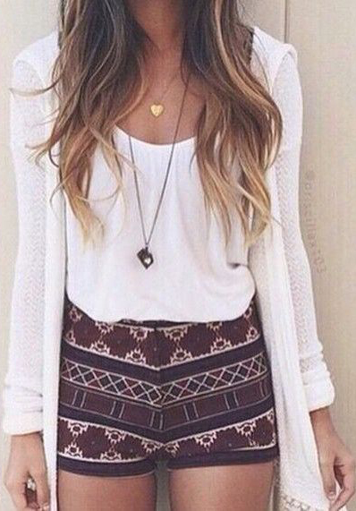 Hipster Summer Shorts Outfits to Copy Now #SummerOutfits