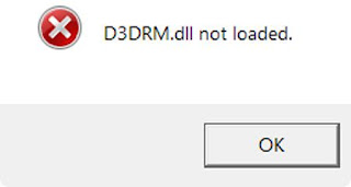 how to fixed Missing D3DRM.DLL / Not Loaded Error