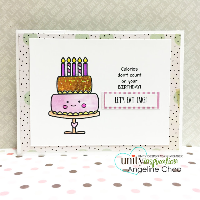 ScrappyScrappy: Cutie Cakes [NEW VIDEOS] #scrappyscrappy #unitystampco #stamp #card #glitter #birthday #cupcake #copic #foil
