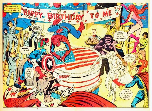 Hari Ulang Tahun Para Karakter Marvel Comics