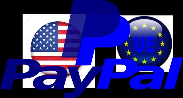 Compte paypal américain & européen