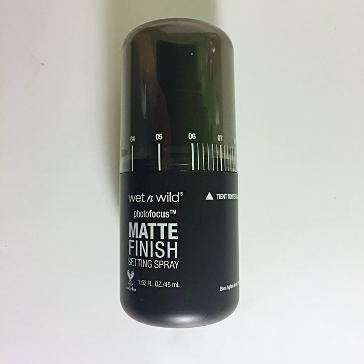 wet n wild photofocus Matte Finish Setting Spray Matte Appeal