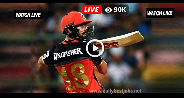 IPL 2018 LIVE Cricket Score SRH vs RCB Live Streaming Online