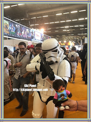 monchhichi kiki japan expo 2018 cosplayer stormtrooper