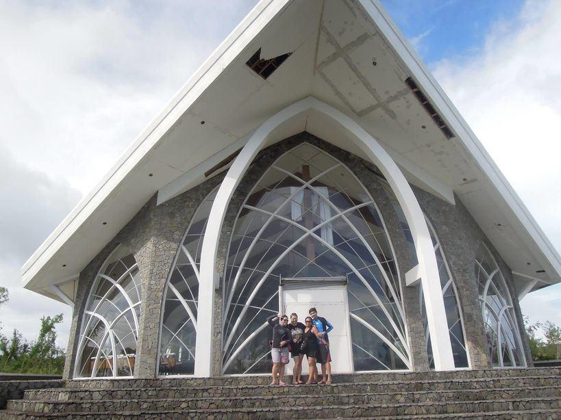 Facade of Stela Maris Chapel in Misibis Bay