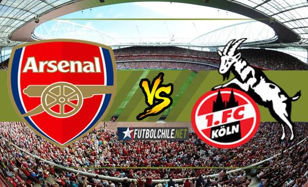 Arsenal vs Köln