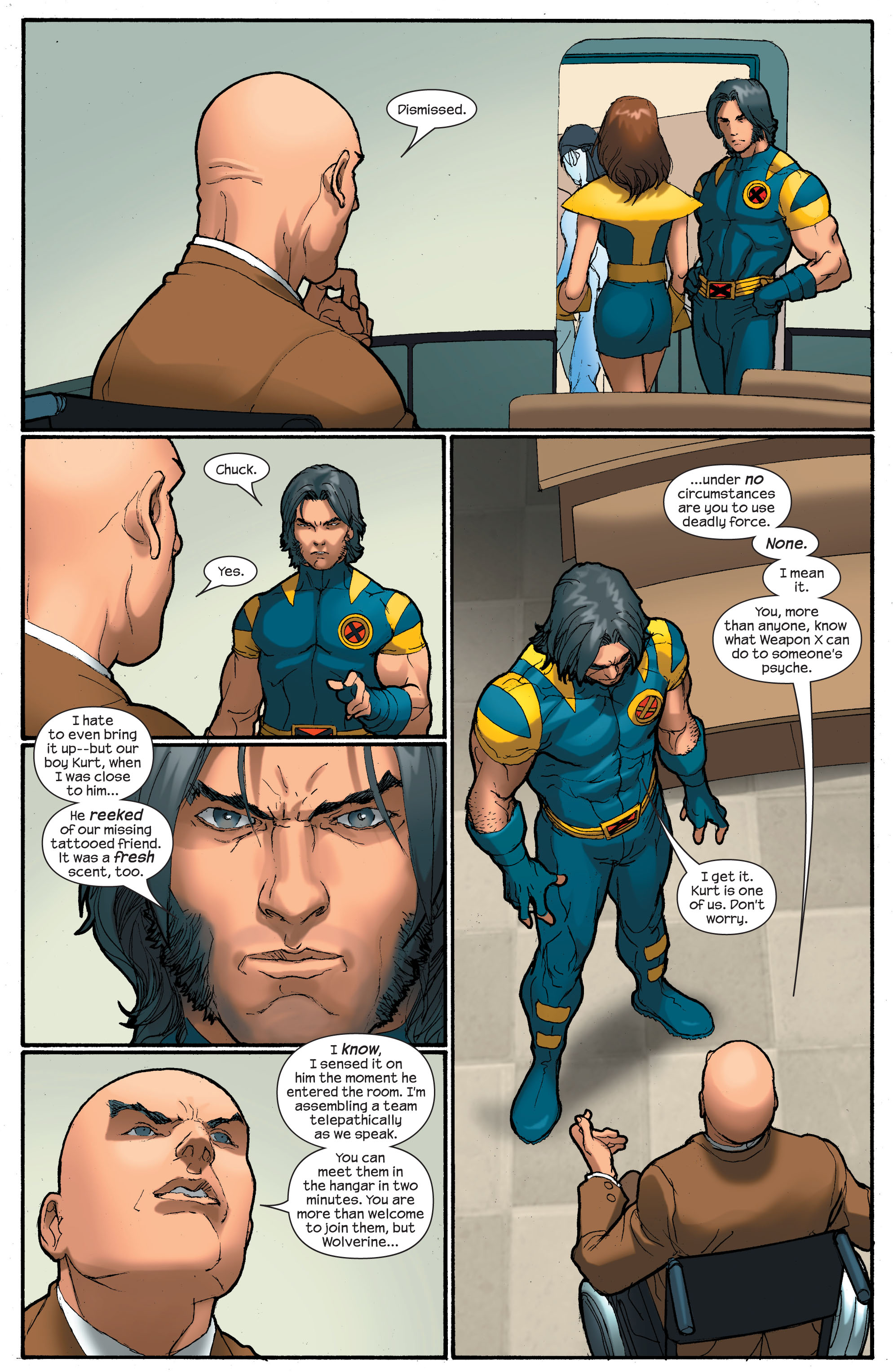 Read online Ultimate X-Men comic -  Issue # _Annual 2 - 20
