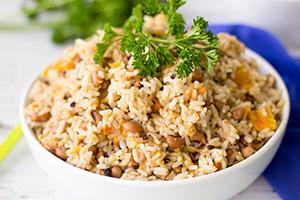 Tobago Black Eyed Peas and Rice