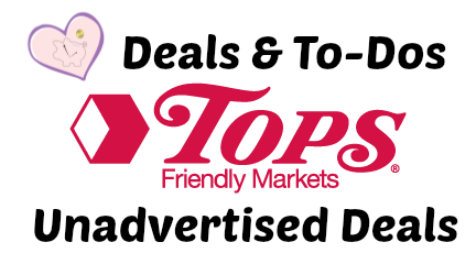 Tops unadvertised deals
