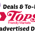 Tops Unadvertised Deals as of 5/13/18
