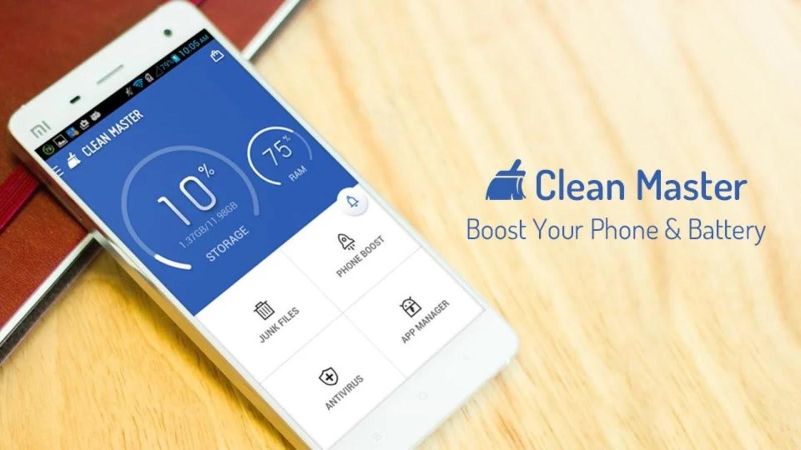 download antivirus clean master gratis