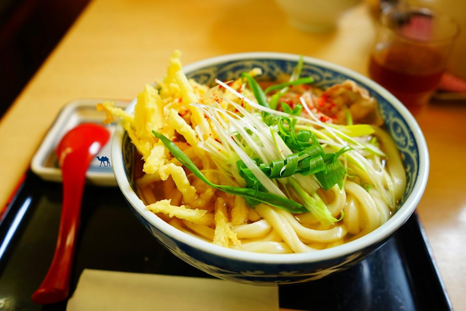 Le Chameau Bleu - Les meilleurs Udons que nous avons mangés Osaka Japon