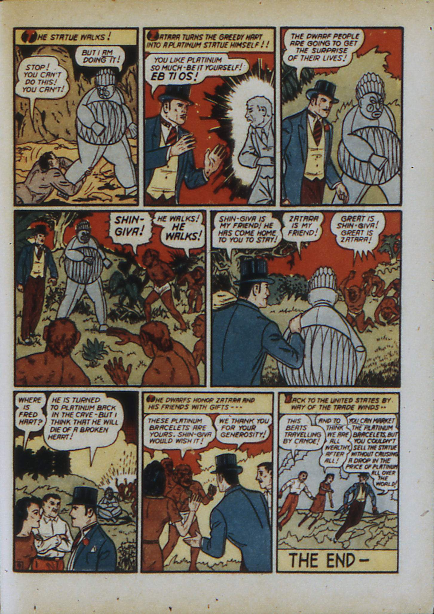 Read online Action Comics (1938) comic -  Issue #33 - 66