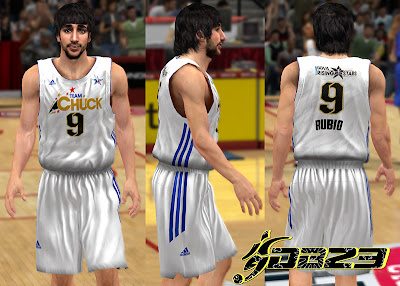 NBA 2K13 Mods Team Chuck Home Jersey Patch