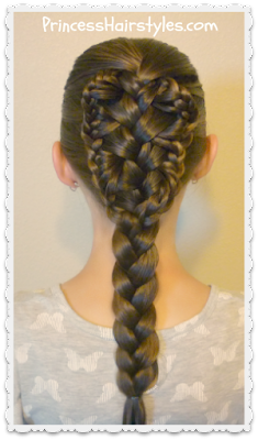 Stingray braid, video tutorial