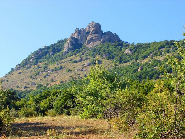 Высокие горы. Южная Демерджи