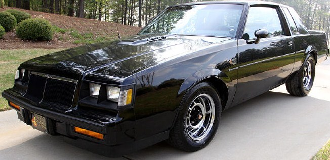 CLASSIC CARS OF THE 1980's: 1986 BUICK GRAND NATIONAL