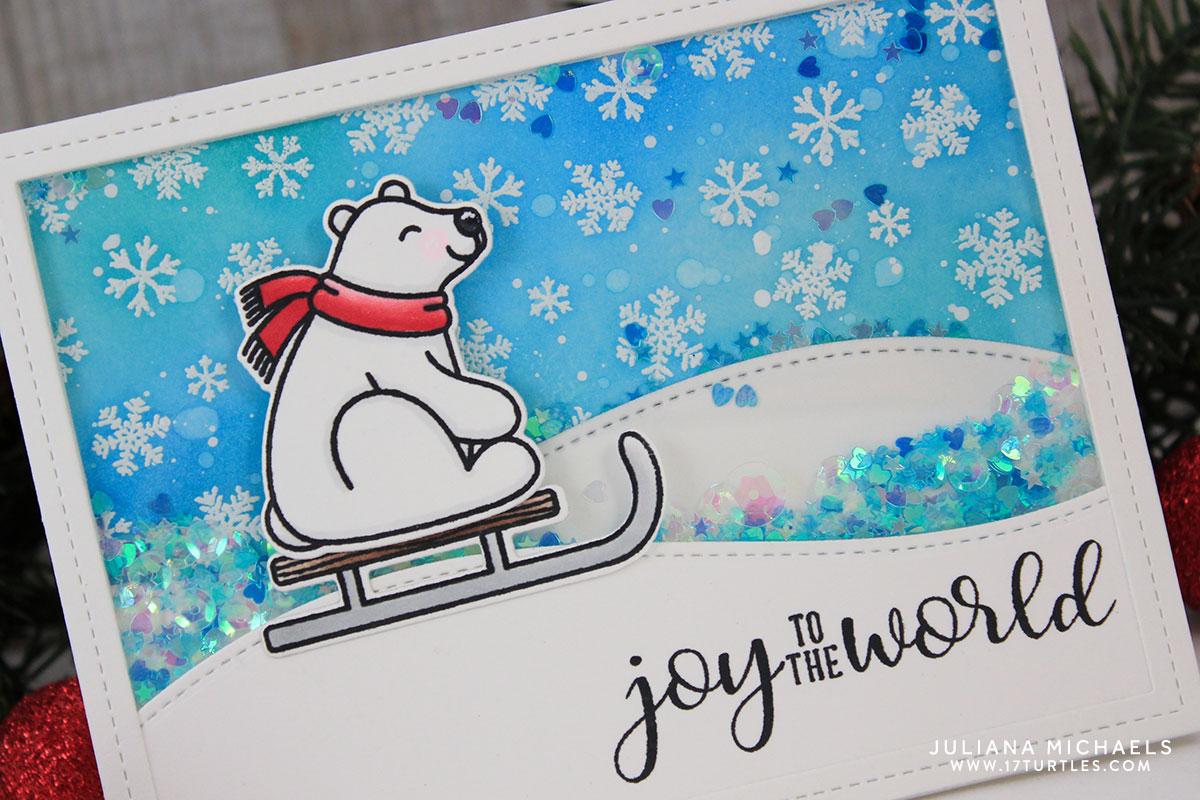 Sunny Studio Guest Designer Spotlight Shaker Card Tutorial With
