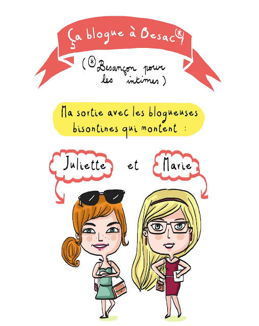 Juliette et Marie besançon, bloglifestyle