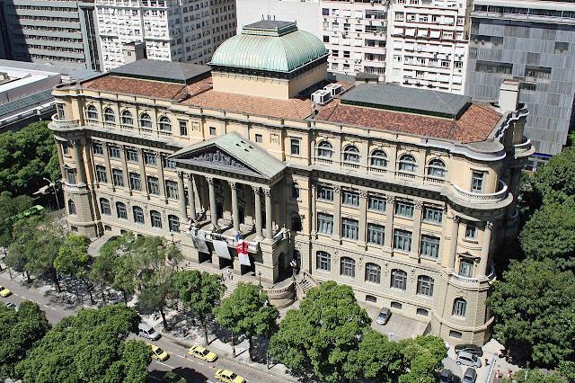 Atrações HistóricasAtrações Históricas no centro do Rio de Janeiro - Biblioteca Nacional no centro do Rio de Janeiro - Biblioteca Nacional