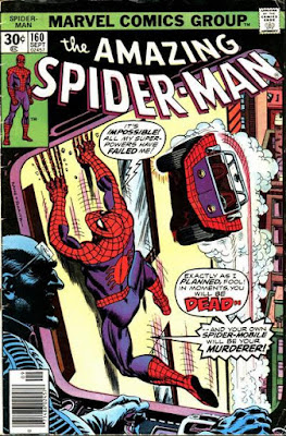 Amazing Spider-Man #160, the Tinkerer is back