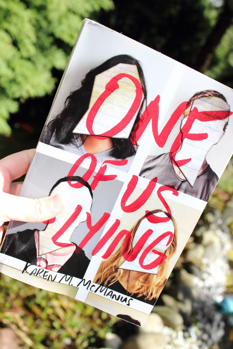 Rezension One of Us is Lying, Buchblogger, Buchrezension, buchliebenetz, Buchempfehlung, Book Blind Date