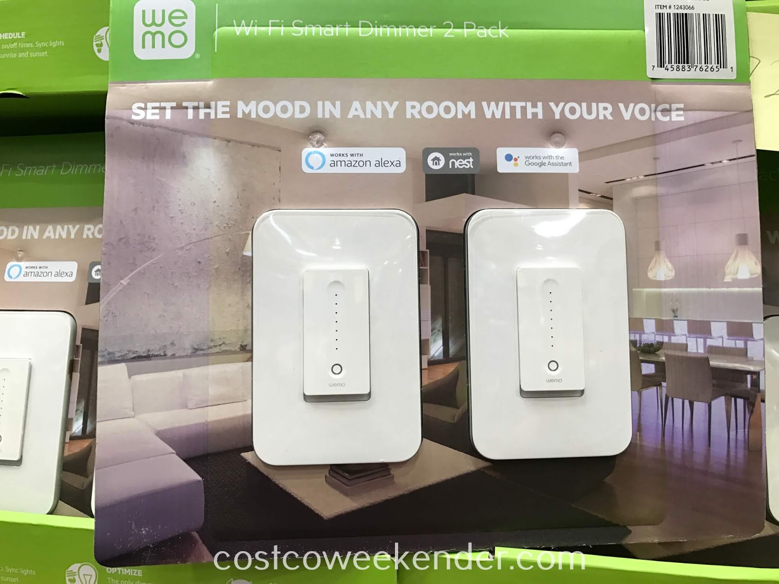 Make your home into a smart home with the Wemo Wi-Fi Smart Dimmer Switch