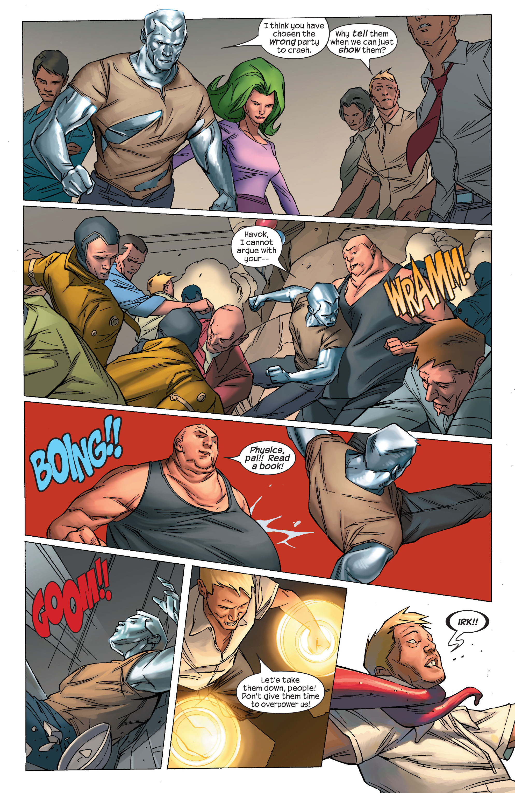 Read online Ultimate X-Men comic -  Issue #69 - 20