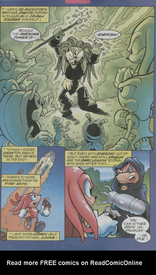 Read online Sonic The Hedgehog comic -  Issue #123 - 17