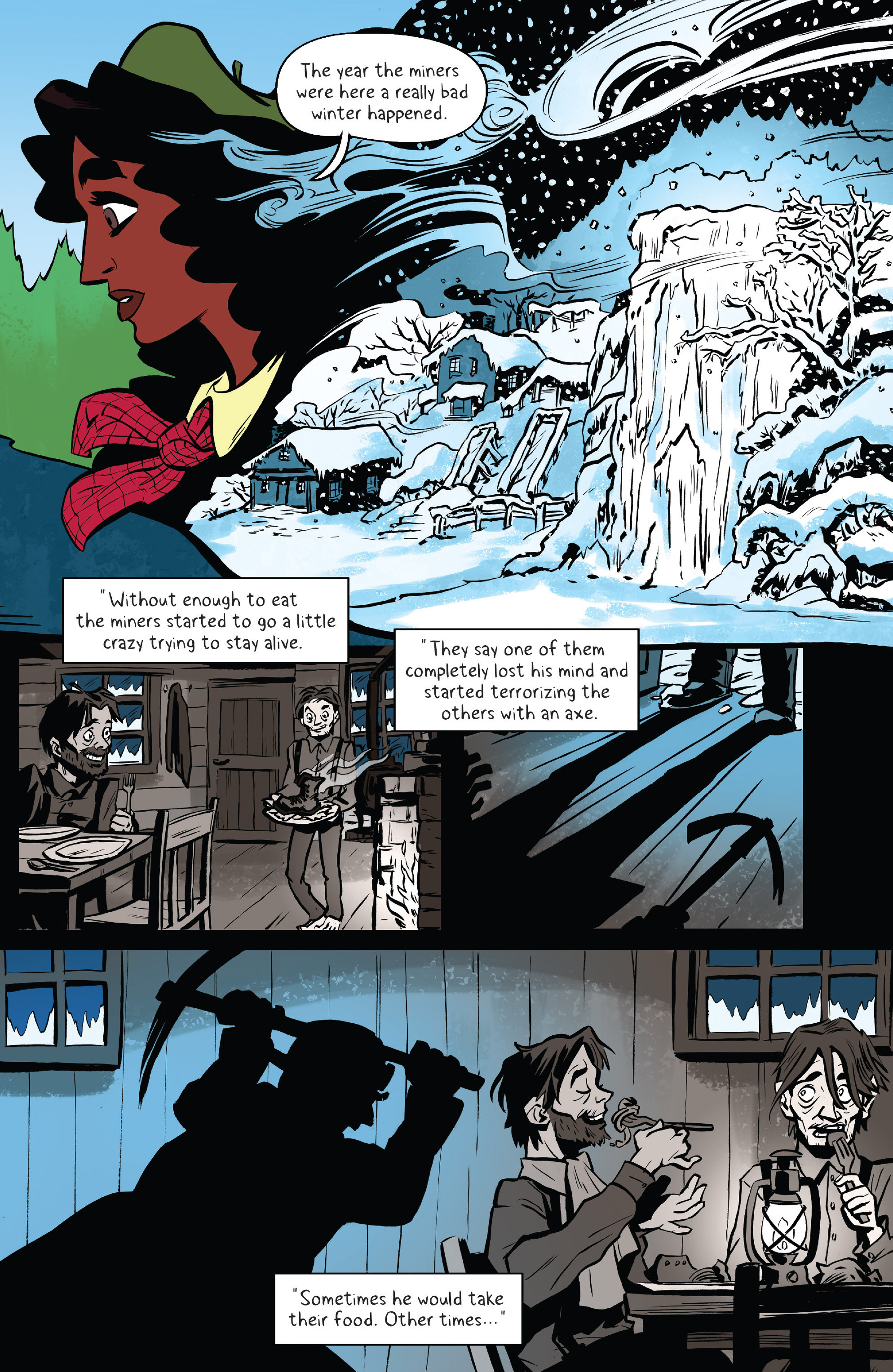Read online Lumberjanes: Makin' the Ghost of It 2016 Special comic -  Issue # Full - 7