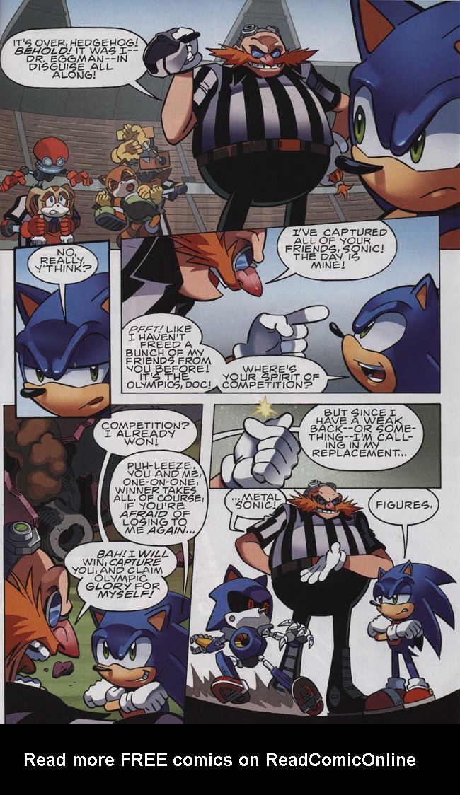 Read online Sonic The Hedgehog comic -  Issue #242 - 17