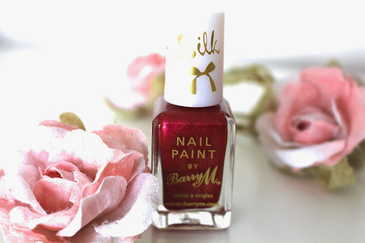 Poppy | Barry M Silk Nail Effects | REVIEW