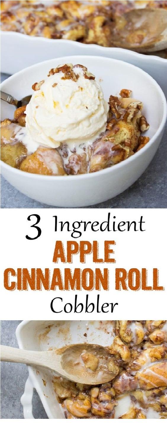 Cinnamon Roll Cobbler